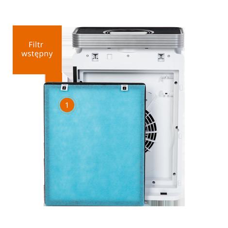 Filtr wstępny - oczyszczacz powietrza Warmtec AP EVO