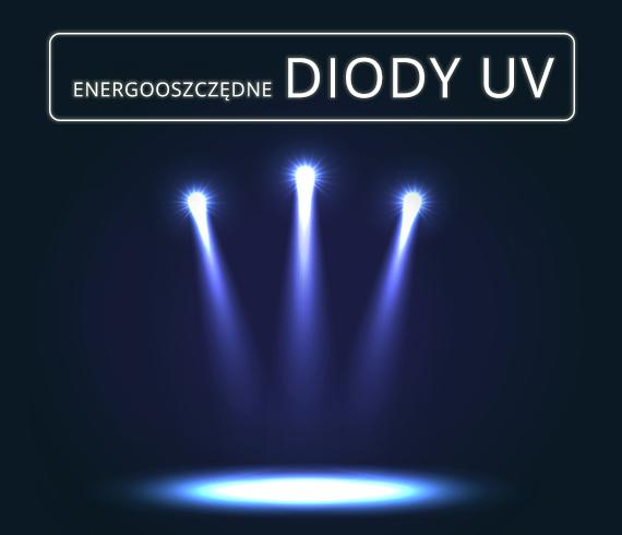 energooszczędne diody UV